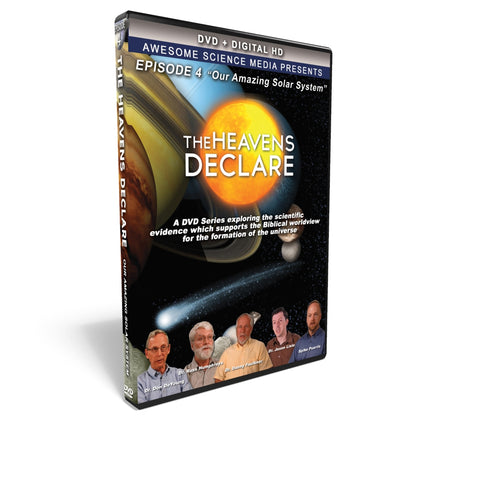 "The Heavens Declare Ep 4 ""Our Amazing Solar System"" DVD"