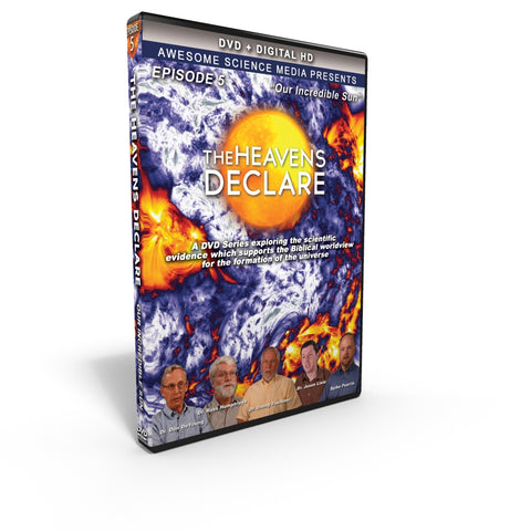 "The Heavens Declare ""Our Incredible Sun"" DVD"