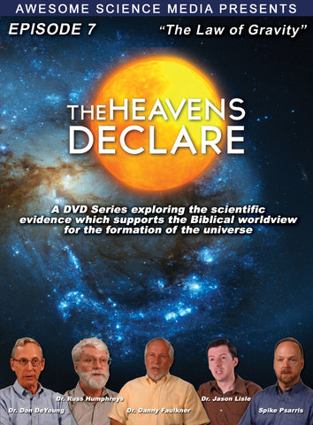 "Heavens Declare Ep 7 ""The Law of Gravity"" DVD"