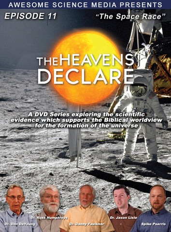 "Heavens Declare Ep 11 ""The Space Race"" DVD"