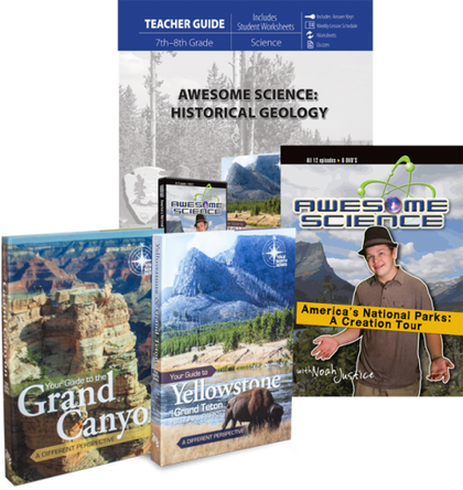 Awesome Science: Historical Geology (Curriculum Pack)