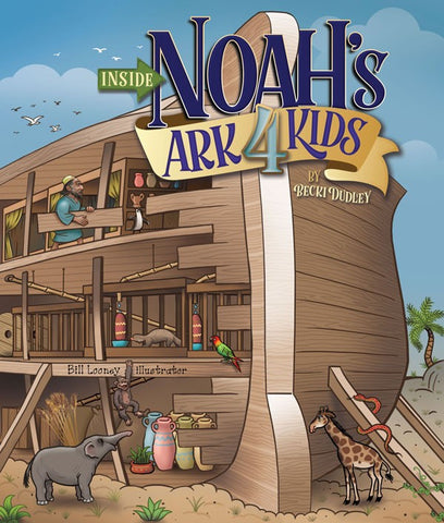 Inside Noah's Ark 4 Kids - Book