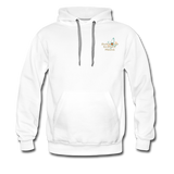Awesome Science Media Hoodie - Star burst Psalm 19:1 - white