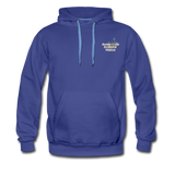 Awesome Science Media Hoodie - Star burst Psalm 19:1 - royalblue
