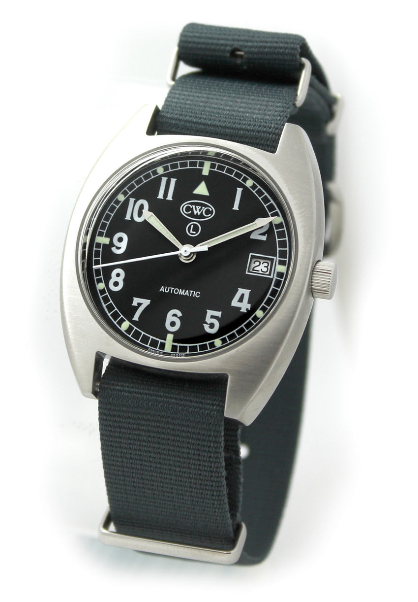 CWC Mechanical Auto General Service watch 1970s Spec