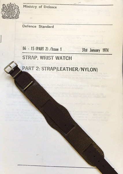 LEATHER / NYLON STRAP 70s SPEC