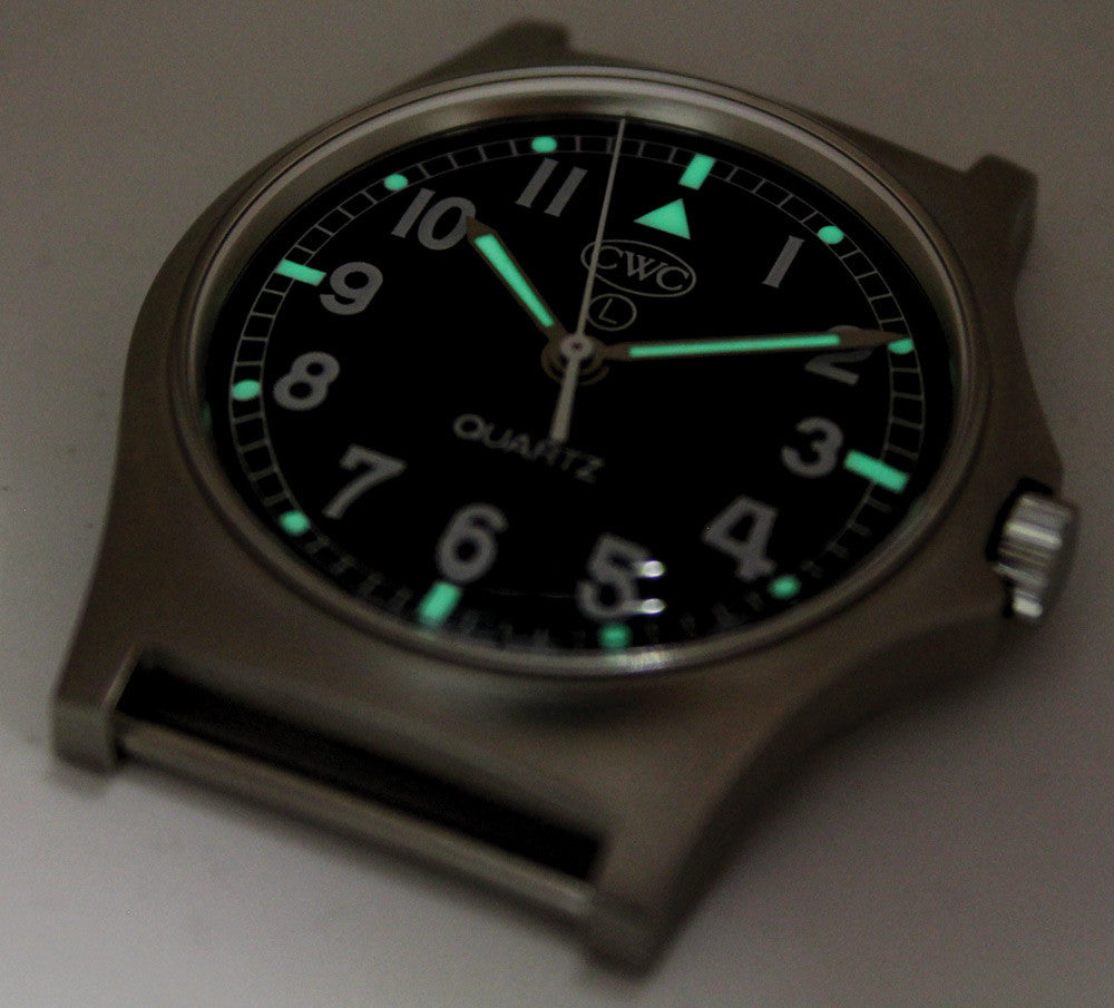 Cwc G10 Military Issue Watch Parts Names Wrist Diagram