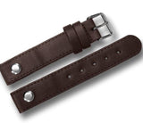 LEATHER AVIATOR TYPE WATCH STRAP