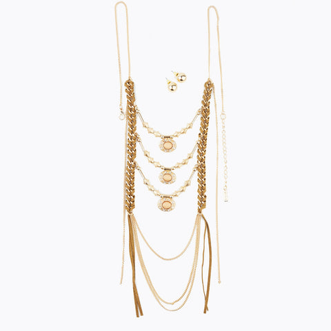 Boho Long Necklace