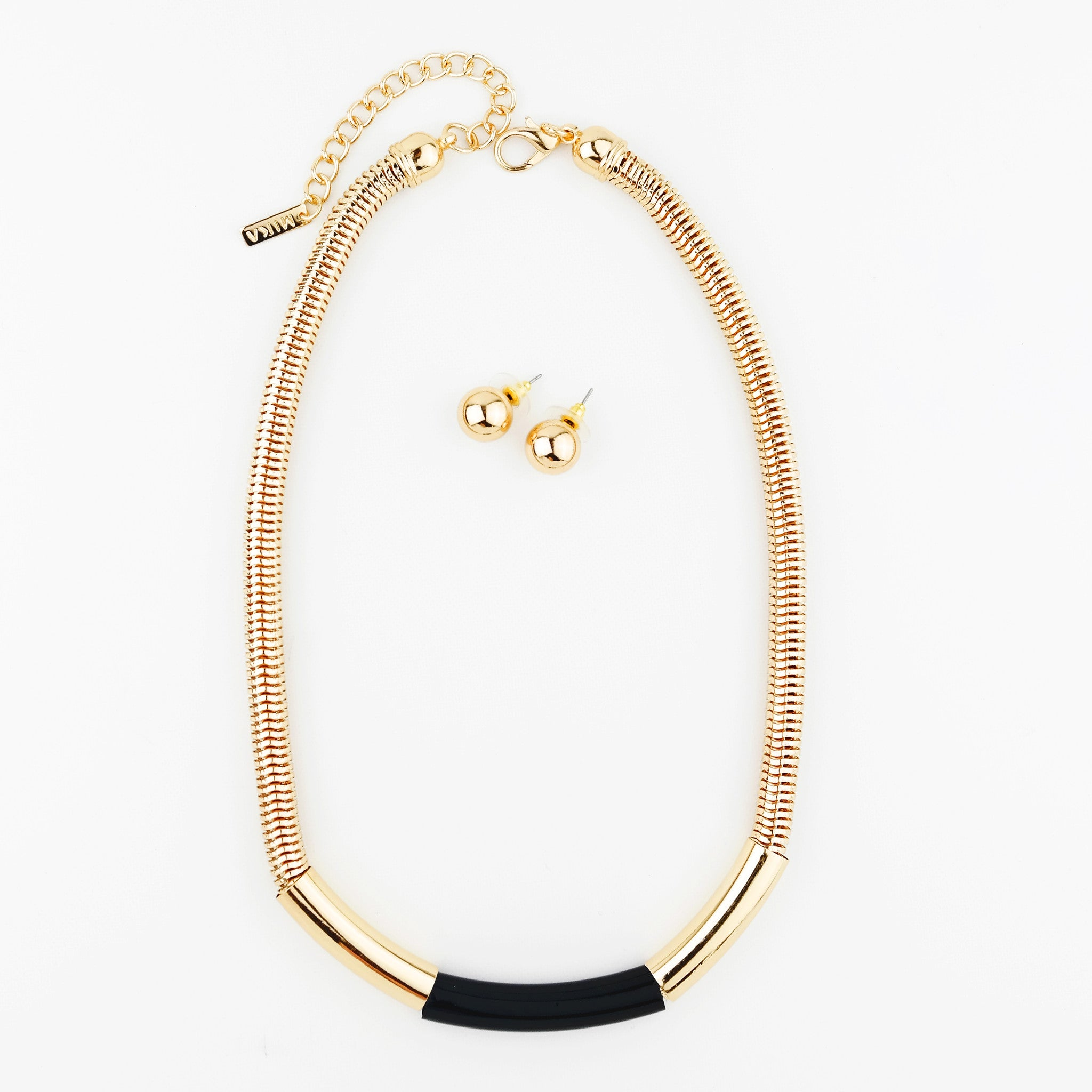 Gold Snake Chain Necklace - hoopsbaby.com