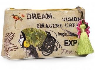 Dream Luxe Pouch with Tassel - hoopsbaby.com