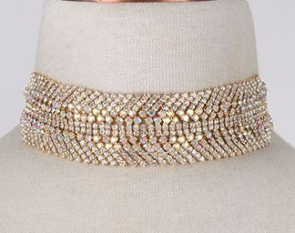 Charming Diamond Choker