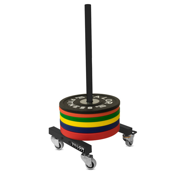 ValorPRO Bumper Plate Stand with wheels