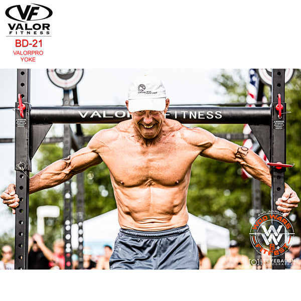 Valor Fitness PRO Yoke Rack