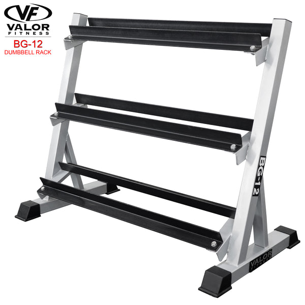 Valor Fitness 3-Tier Dumbbell Rack