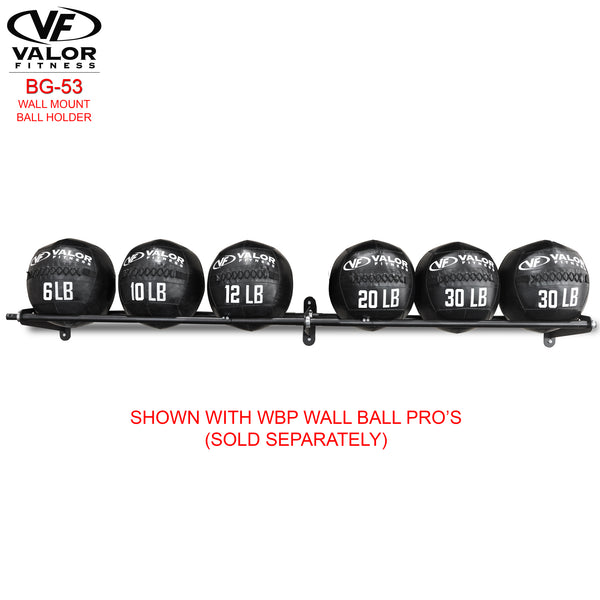 Valor Fitness Wall Mount Ball Holder