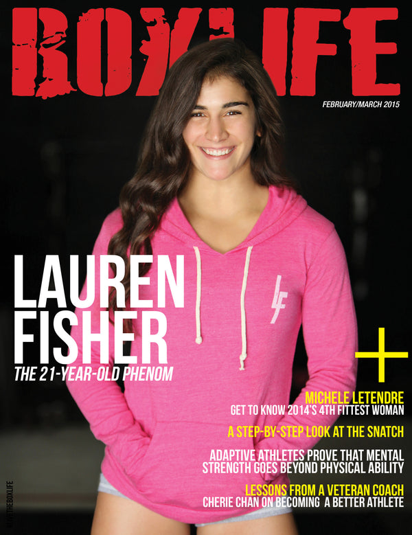 Lauren Fisher (Feb/Mar 2015)