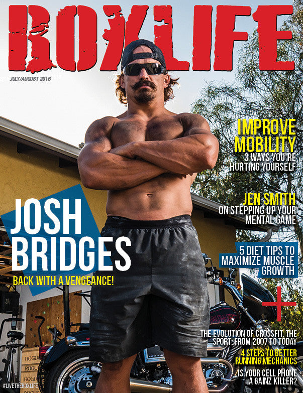 Josh Bridges (July/August 2016)