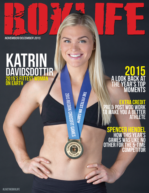 Katrin Davidsdottir (Nov/Dec 2015)