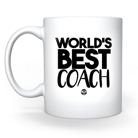 World's Best Coach Coffee Mug - 11 oz. (Pre-Order)