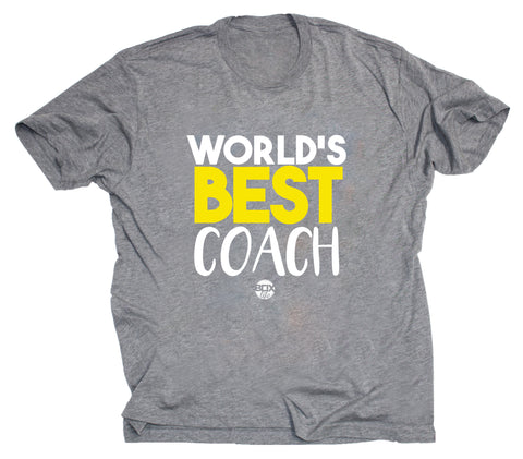 World's Best Coach Tee (Pre-Order)
