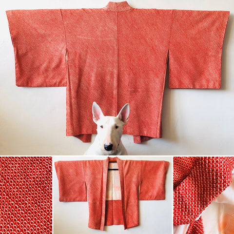 Fully Shibori Red Tiles BRAND NEW