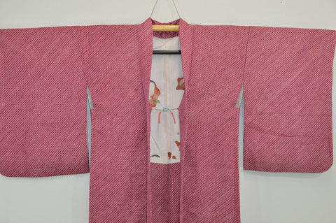 Fully Shibori Vintage Two Tone Fuchsia