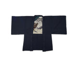 Men's Haori With Handpainted Lining