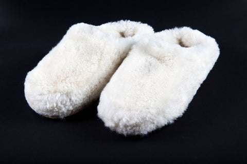 Fluffy Sheepskin Slippers