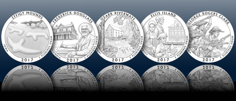 2017 National Parks Quarters Designs Revealed Franklin