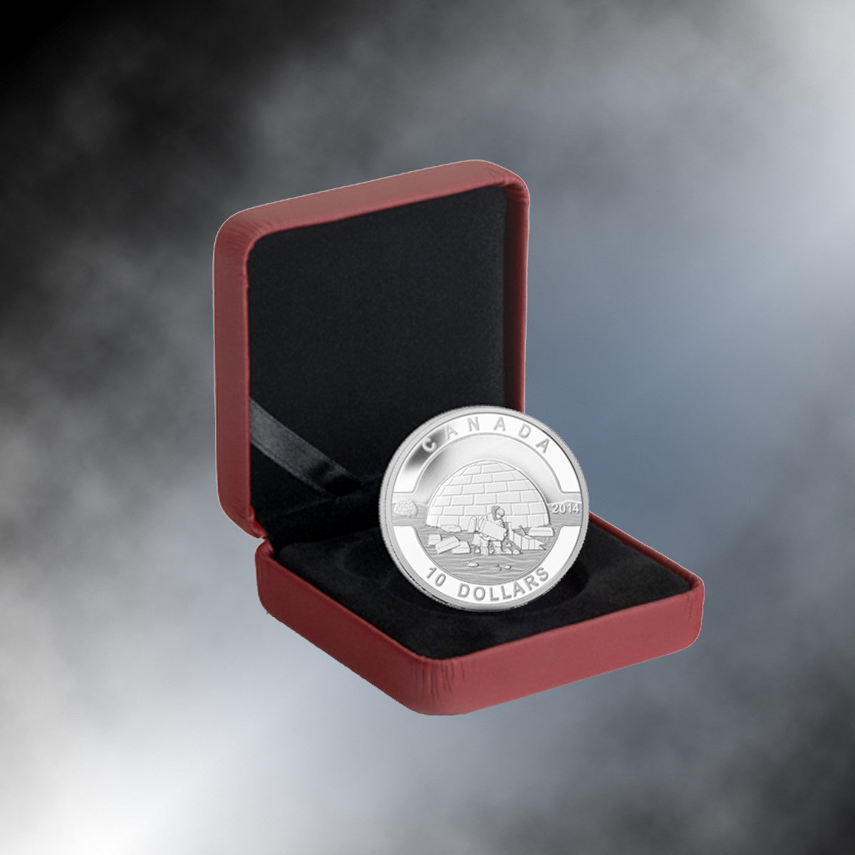 2014 Canada 1/2 oz Silver $10 The Igloo