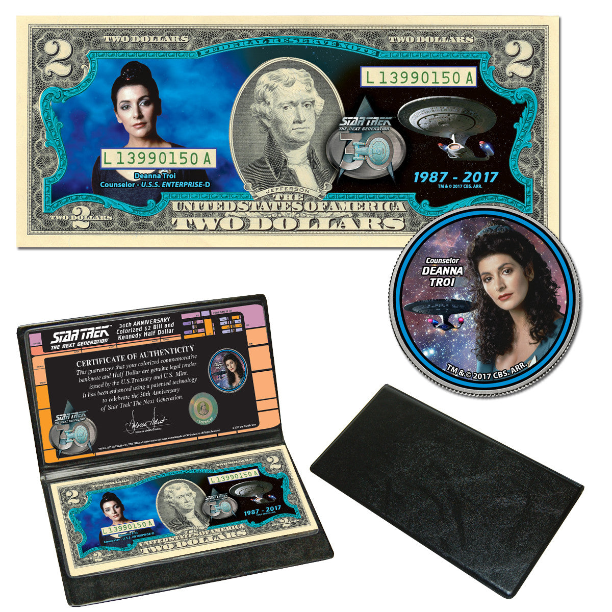 Star Trek: The Next Generation Coin & Currency Collection - Troi