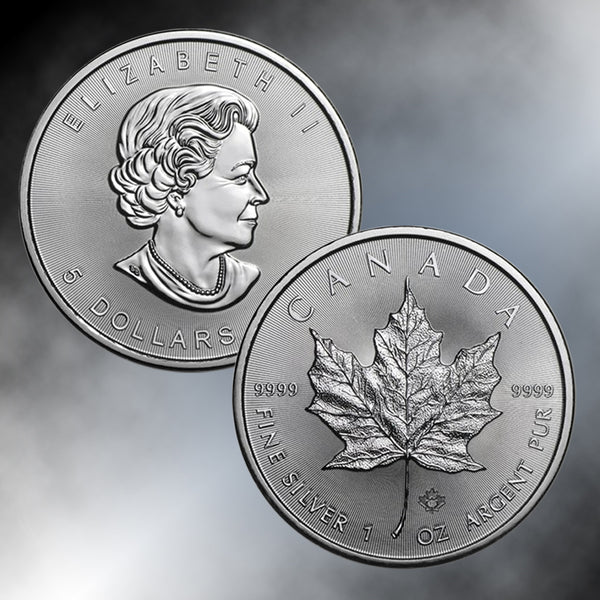 Canada $5 Maple Leaf Silver Bullion