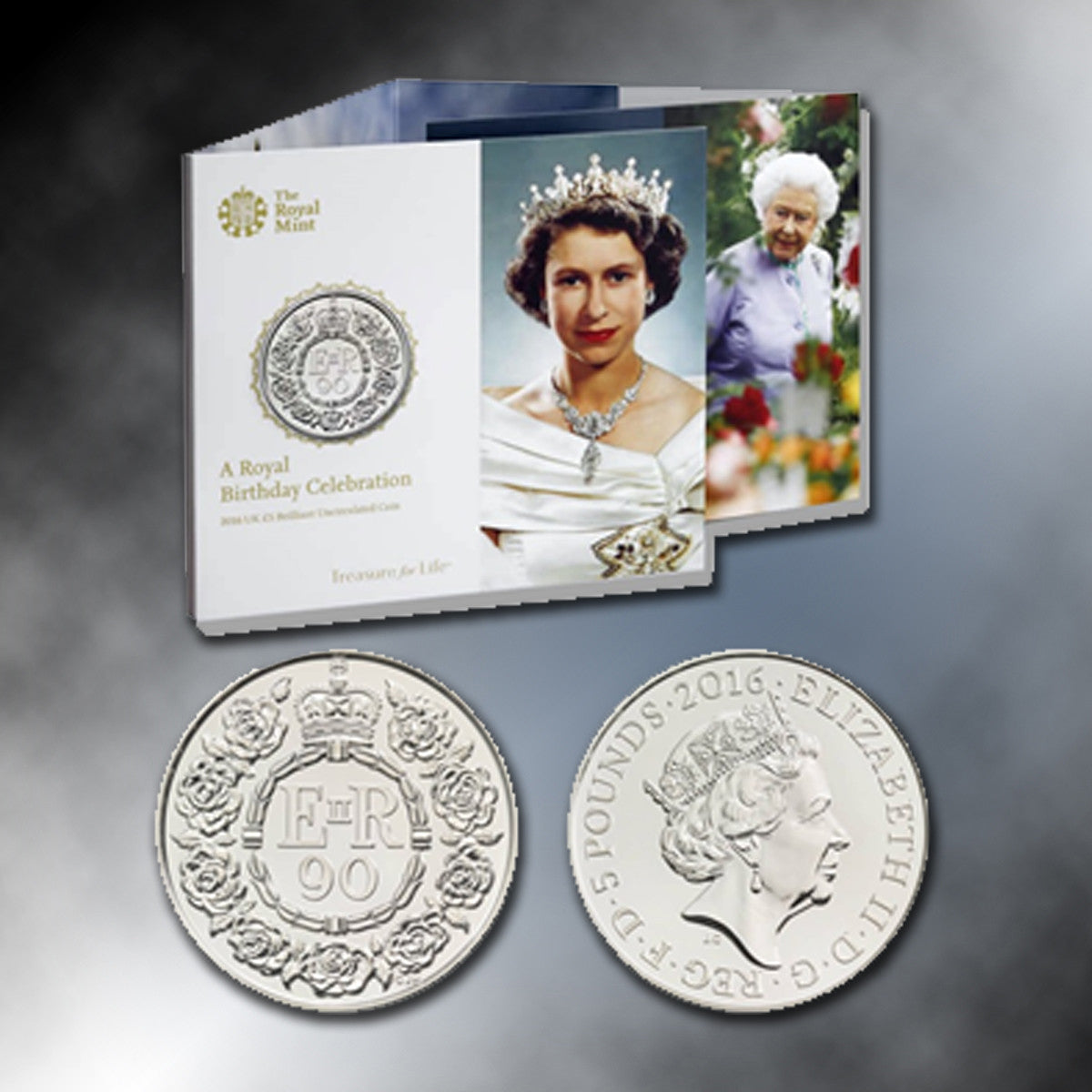 A Royal Birthday Celebration - Official UK £5