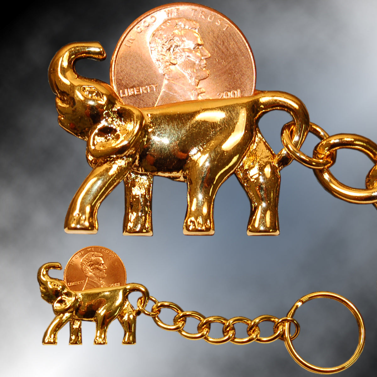 Lucky Elephant Lottery Scratcher Key Chain!