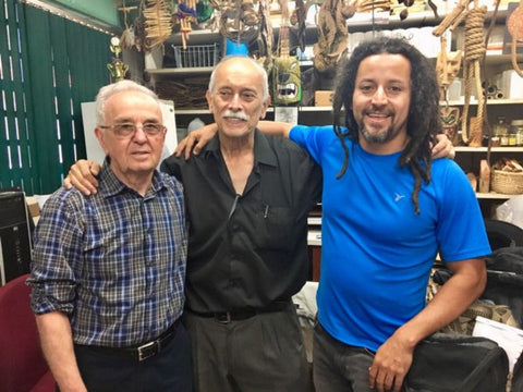 With scientists, Tony Durst (Chemist from University of Ottawa), and Luis Poveda (Ethnobotanist/Taxonomist, Universidad Nacional Autónoma de Costa Rica).