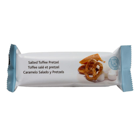 Salted Toffee Pretzel Protein Bar