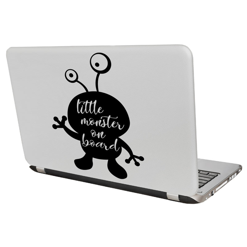 Little Monster on BoardDecal Sticker for Car Window, Laptop and More # 1000