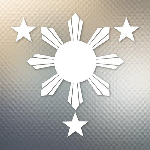 Philippines Flag 1 Sun and 3 Stars. Filipino #574