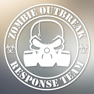 Zombie Outbreak Response Team Featuring a Gas Mask #819
