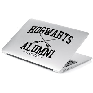 Harry Potter Hogwarts Alumni Vinyl Decal Sticker # 919