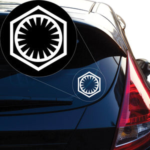 First Order Star Wars Decal Sticker for Car Window, Laptop and More # 938