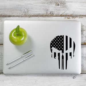 American Punisher Decal Sticker for Car Window, Laptop and More. # 1038
