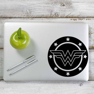 Wonder Woman Decal Sticker for Car Window, Laptop and More. # 1012