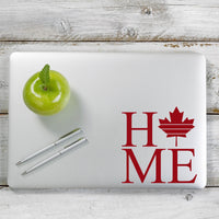 Canada Home Decal Sticker for Car Window, Laptop and More. # 1217