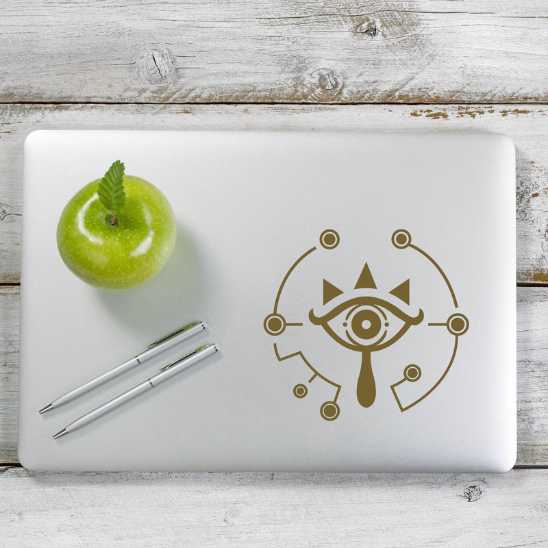 Zelda Breath of the Wild Sheikah Decal Sticker for Car Window, Laptop and More. # 1147