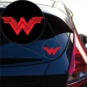 Wonder Woman Decal Sticker for Car Window, Laptop and More. # 1063