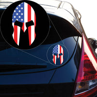 American Spartan Decal Sticker for Car Window, Laptop and More # 950