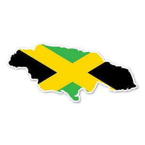 Jamaican Decal Sticker for Car Window, Laptop and More # 961