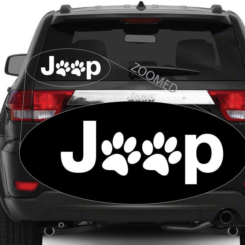 Jeep Dog Paw #490